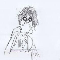 Esta apabullante prueba en lápiz de Milt Kahl. | 12 fascinantes GIF de Disney en lápiz que te harán extrañar la animación 2D