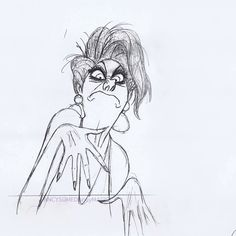 This stunning Milt Kahl pencil test. | 12 Mesmerizing Disney Pencil Gifs That Will Make You Miss 2D Animation