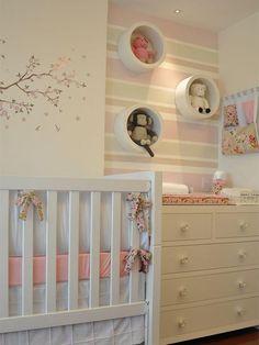 45 Ideas Baby Room Decoracion Cuarto Bebe For 2019 Baby Bedroom, Baby Room Decor, Nursery Room, Boy Room, Girl Nursery, Girls Bedroom, Room Baby, Nursery Decor, Newborn Room