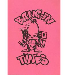 Bang in Tunes Flyer February - March 1992