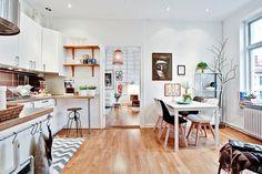 open space kitchen #interior