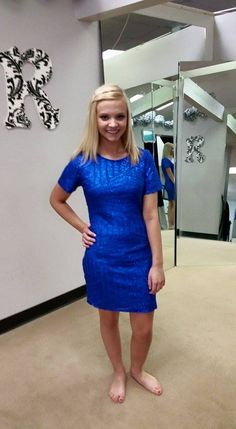 loving this royal blue cocktail dress we have with sequins. Perfect for any type of formal event! #rendezvousformalwear