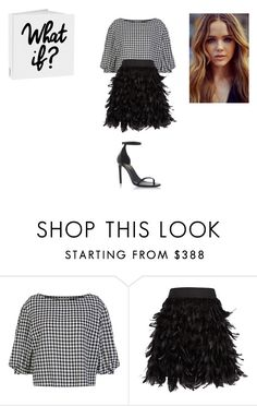 """""""Sans titre #8599"""" by ghilini-l-roquecoquille ❤ liked on Polyvore featuring Sonia Rykiel, Alice + Olivia and Yves Saint Laurent"""
