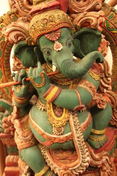 Ganesha, Remover of Obstacles, Lord of Success, God of Wisdom and Wealth