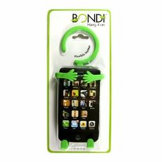 Bondi: Hang it to charge your phone, hang it in your car while you drive. Hang it anywhere to listen to your music, hang it on your screen, for multiple use. Hang it on your jeans, holds memos, pictures, letter size paper. Bondi mounts on the table for easy viewing, can also be used as a book mount and book mark.