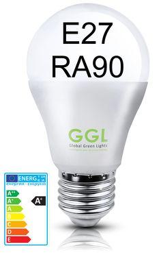 LED Birne E27 RA90 10W   E27   LED Leuchtmittel   Lichttechnik   Fintecs.de