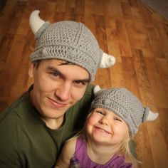 Crochet Pattern - Lael Viking Hat (Sizes Newborn to Adult) Pattern Available to Purchase via Etsy