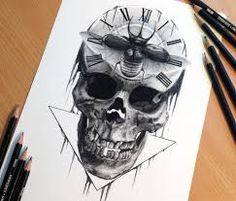 Bildergebnis für skull drawing