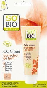 12€ (peut être chez carrefour sinon achat en ligne) CC Cream correcteur de teint
