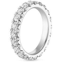 Pave Diamond Eternity Ring | Ellora | Brilliant Earth