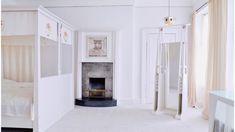 Photo from ca. 1900 bedroom of The Mackintosh House, University of Glasgow. Charles Rennie Mackintosh, Mackintosh Furniture, Home Bedroom, Bedroom Decor, House For An Art Lover, Mackintosh Design, Glasgow Museum, Tall Mirror, Glasgow School Of Art