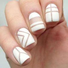 Blanco, líneas