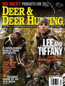 Deer & Deer Hunting magazine June 2012 issue with Lee & Tiffany Lakosky