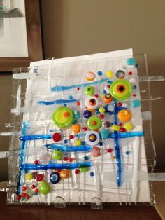 Glass Sculpture [ just so much fun] By Dianne Taylor