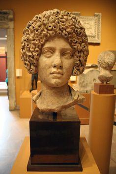 (c. 100-125 CE) Portrait of a Roman Woman