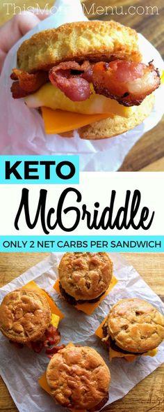 Keto Homemade McGriddle Sandwiches!!! - 22 Recipe