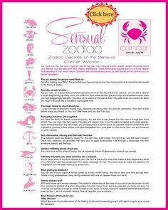 Sensual Zodiac Cancer Women
