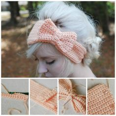 A Crochet Bow Headband is the perfect accessory for your favourite outfit and will banish your bad hair days for good. You will love these free patterns.