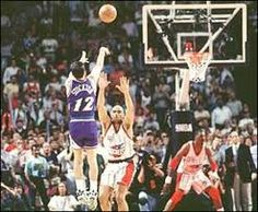 John Stockton sends the Jazz to the NBA Finals