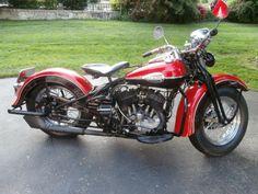 Harley Davidson 1941 45CI Model WLDR Flathead