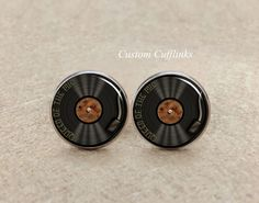 queen of the mic cufflinks,Gramophone Cufflinks, vintage cufflinks,car cufflinks, music cufflinks,custom initial cufflinks,Tie clips,tie pin by GiftsVenue on Etsy https://www.etsy.com/listing/237123003/queen-of-the-mic-cufflinksgramophone