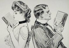 Their First Quarrel, Charles Dana Gibson