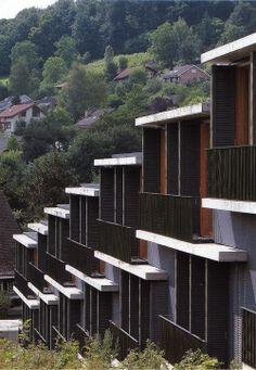 Spittelhof Housing - Peter Zumthor