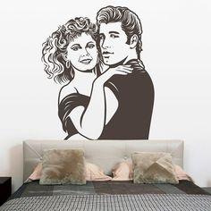 Adesivi Murali: Grease #cinema #decorazione #deco #StickersMurali
