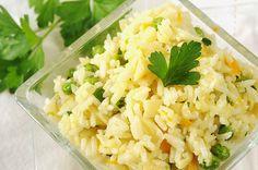 Cheesy rice, yummy