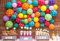 My Little Party birthday decorations color balloons enjoy Party Decoration, Birthday Decorations, Balloon Decorations, Festa Party, Baby Shower, Idee Diy, Balloon Wall, Balloon Backdrop, Monster Party