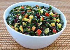 Tuscan Kale and Apple Salad