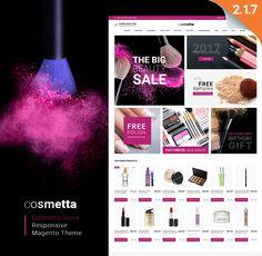 Cosmetta - Responsive Cosmetics Magento Theme , Cosmetta - Cosmetics Store