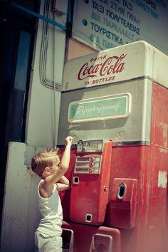 Coca Cola Vintage Machine