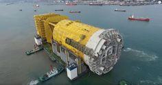 VIDEO: Statoil's Aasta Hansteen substructure leaving dry dock
