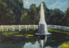 Fountain Villa Torlonia, miniature