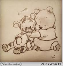 winnie the pooh :) zeichnungen, zeichnung, disney - KUNST Drawing Sketches, Pencil Drawings, Drawing Ideas, Cool Sketches, Sketching, Winnie The Pooh Drawing, Pooh Winnie, Winnie The Pooh Tattoos, Winnie The Pooh Pictures