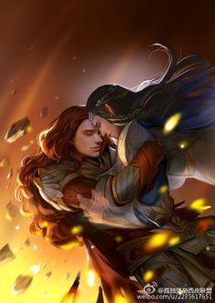 Maedhros and Fingon… I will never not love this picture…