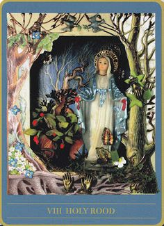 THE MYSTERIES OF MARY TAROT DECK: Part two of the Handless Maiden