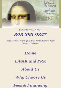 Denver Lasik Surgeon -- www.levinsoneyeclinic.com