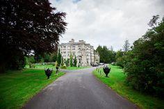 Nigel & Tracey - Castle Romance & Lots Of Smiles Irish Wolfhound, 5 Star Hotels, Real Weddings, Ireland, Wedding Venues, Sidewalk, Castle, Country Roads, Romance