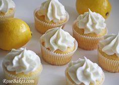 Lemon Kissed Cupcakes 4