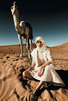 la nomade: benthe de vries by rennio maifredi for marie claire italia july 2013 Marie Claire, Morocco Fashion, Dubai Fashion, Photo Desert, Fashion Shoot, Editorial Fashion, Fashion Fashion, Travel Fashion, Editorial Photography