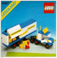 Lego 6367 - Semi Truck