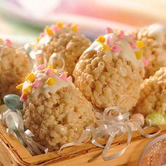 Easter Egg Crispy Treats!