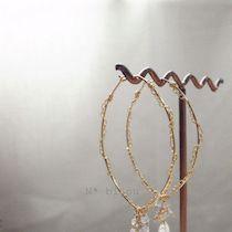 *簡単ワイヤーリングのつくりかた | n* bijou Gold Necklace, Beads, Bracelets, Jewelry, Beading, Gold Pendant Necklace, Jewlery, Jewerly, Schmuck