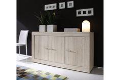 Rustica Sideboard 160 cm - Lysegrå   Trademax.no Buffet Design, Side Board, Drawer Unit, Cabinet, Living Room, Storage, Inspiration, Furniture, Home Decor