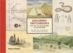Explorers' Sketchbooks: The Art of Discovery & Adventure: Amazon.co.uk: Huw Lewis-Jones, Kari Herbert: 9790500252191: Books
