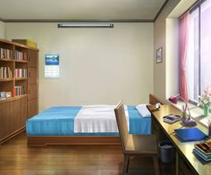 Simple anime room google search anime bedrooms and for Anime bedroom ideas
