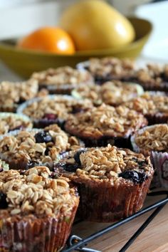 "Individual Baked Oatmeal ""Muffins"" - easy breakfast!"