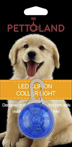 Petto Land Dog Collar Light - Clip - On Safety Dog Collar Light 5 Pack Bundle (Blue + Yellow + Orange + Red + Green) Safety Dog Collar Light Stainless Steel Carabiner Clasp - Battery Included   Check it out-->  http://mypets.us/product/petto-land-dog-collar-light-clip-on-safety-dog-collar-light-5-pack-bundle-blue-yellow-orange-red-green-safety-dog-collar-light-stainless-steel-carabiner-clasp-battery-included/  #pet #food #bed #supplies